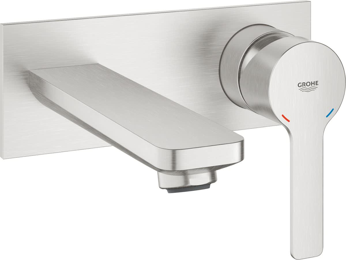 Grohe Kraan Badkamer : Grohe lineare new tweegats wastafelkraan m medium uitloop